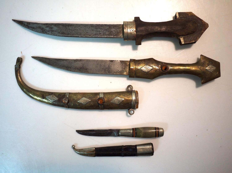 Moroccan Jambiya Knives