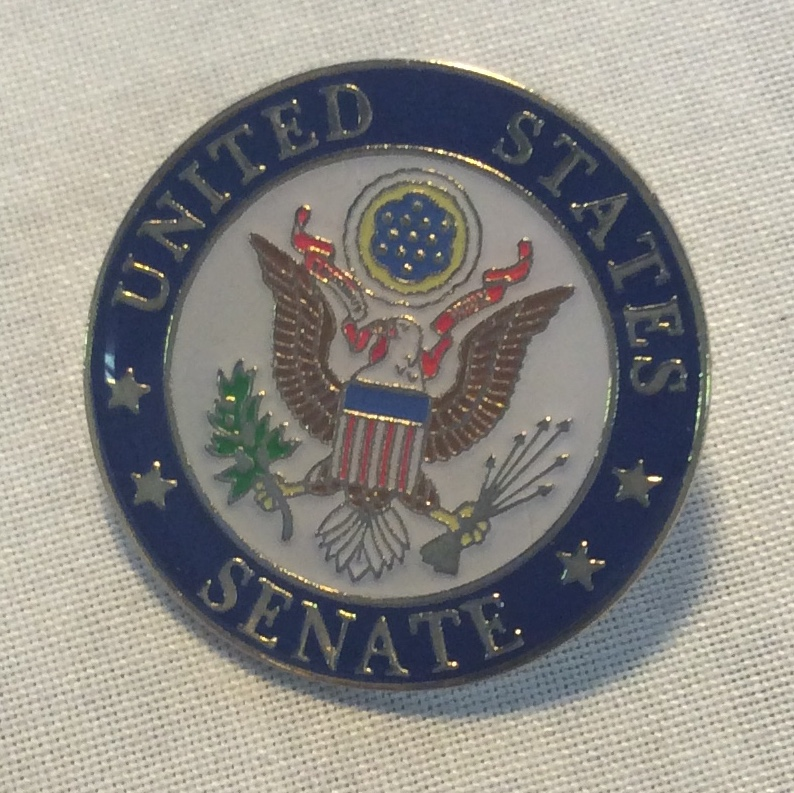 United States Senate Pin