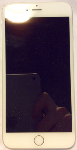 Apple iPhone 5s, silver & white