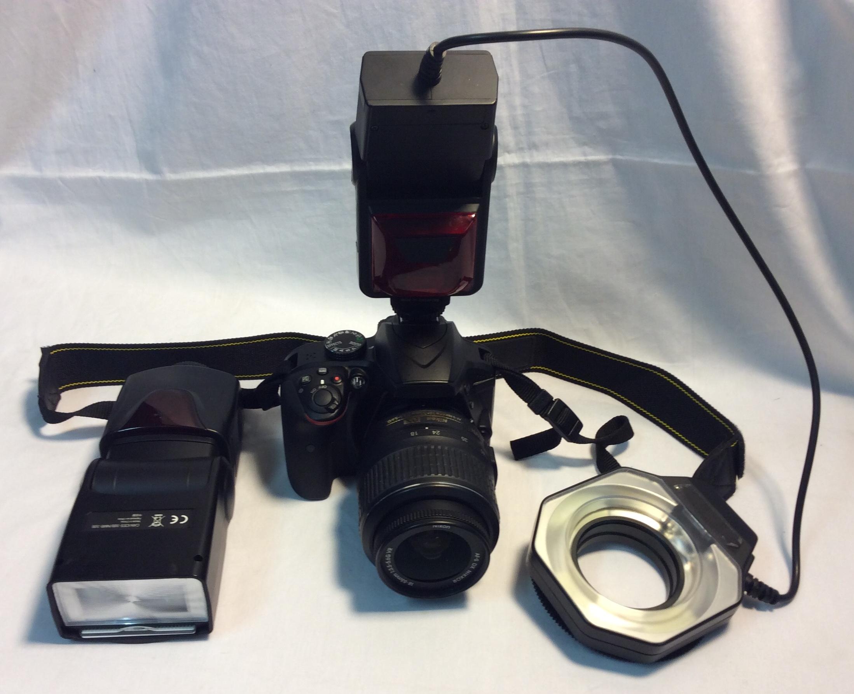 RCP CAM6: Nikon D3400, forensics cam