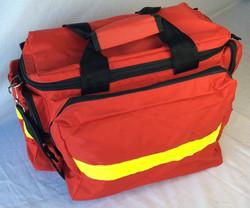 Paramedic bag, red.
