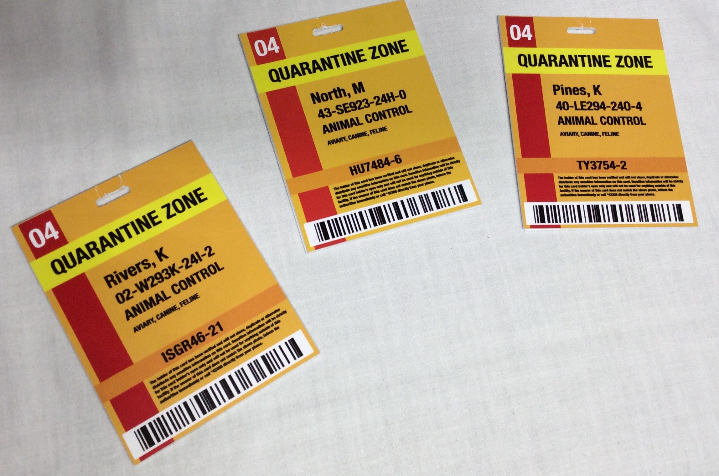Quarantine IDs