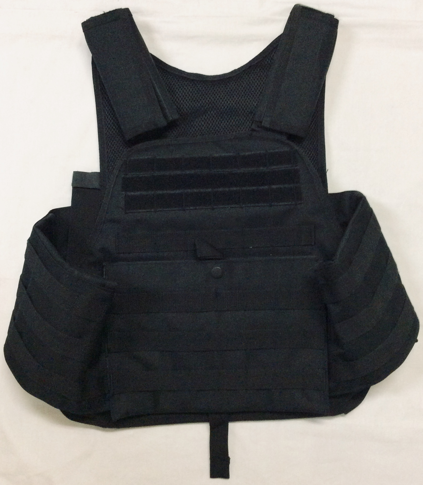 Rothco Black tactical plate carrier