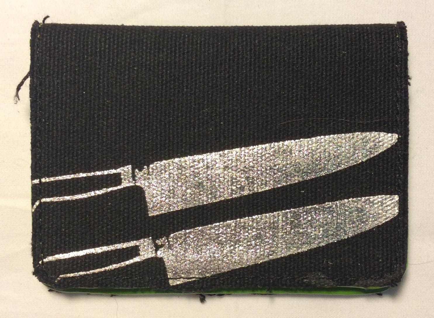 Andy Warhol Black fabric small