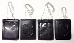 Necklace Shield badge holders