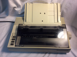 Tandy DMP 132 Dot matrix printer, cream coloured