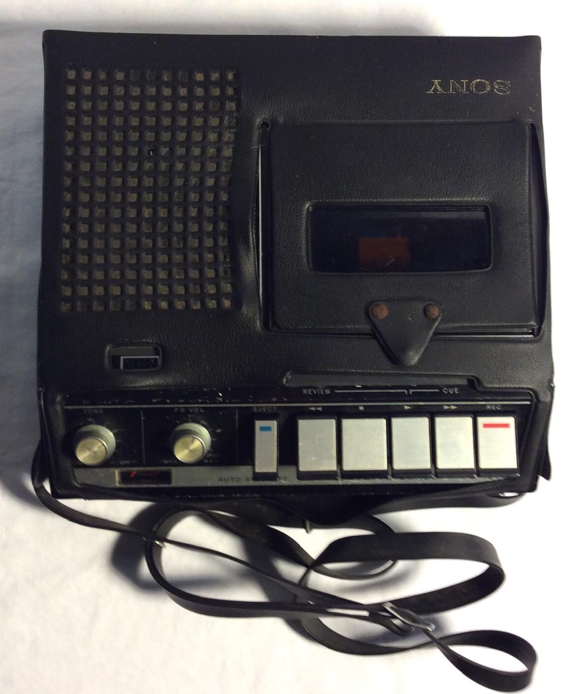 Sony portable cassette recorder