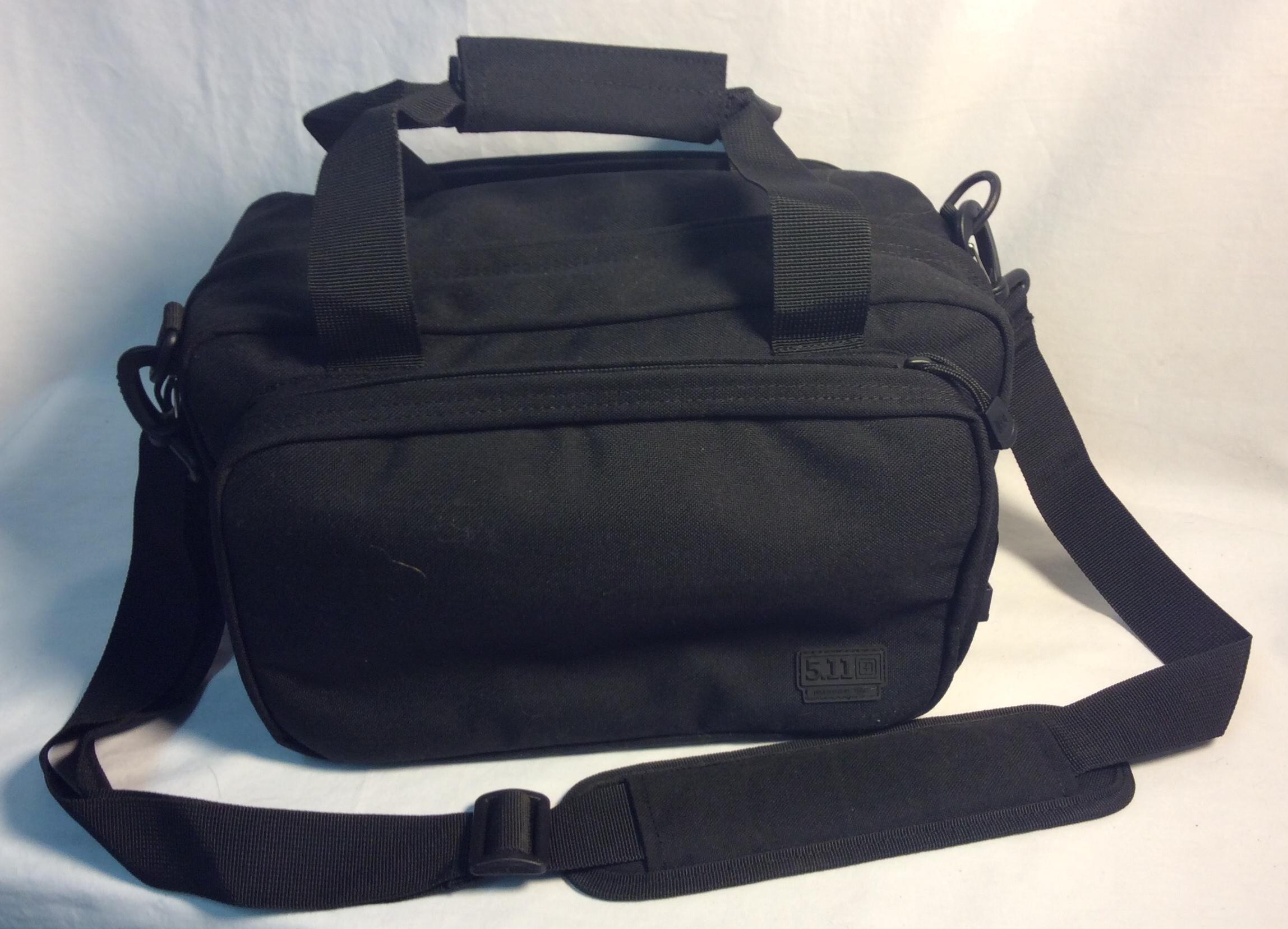 5.11 Black Nylon heavy-duty small kit tactical duffle