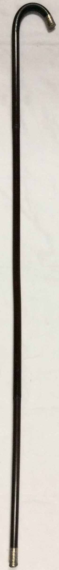 Victorian style wood crook cane