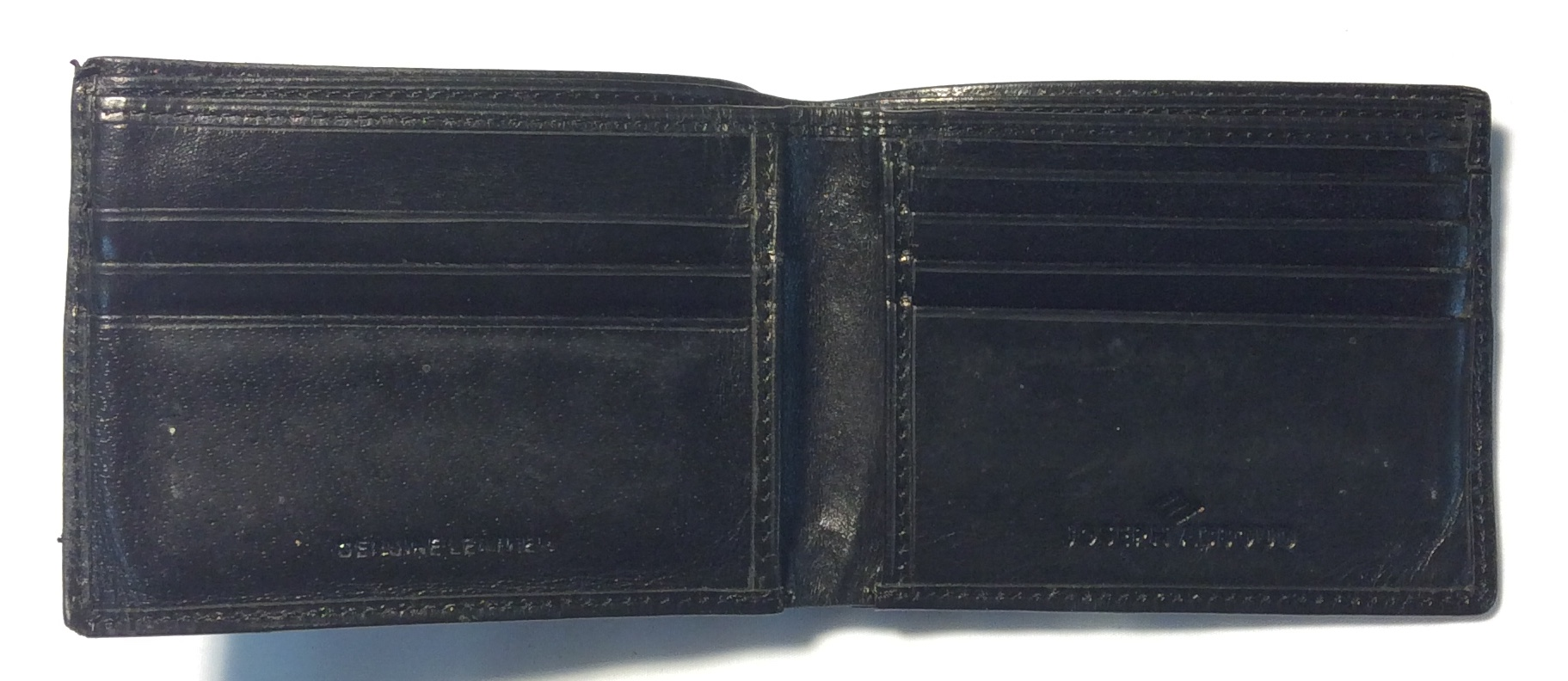 Joseph Abboud Black leather