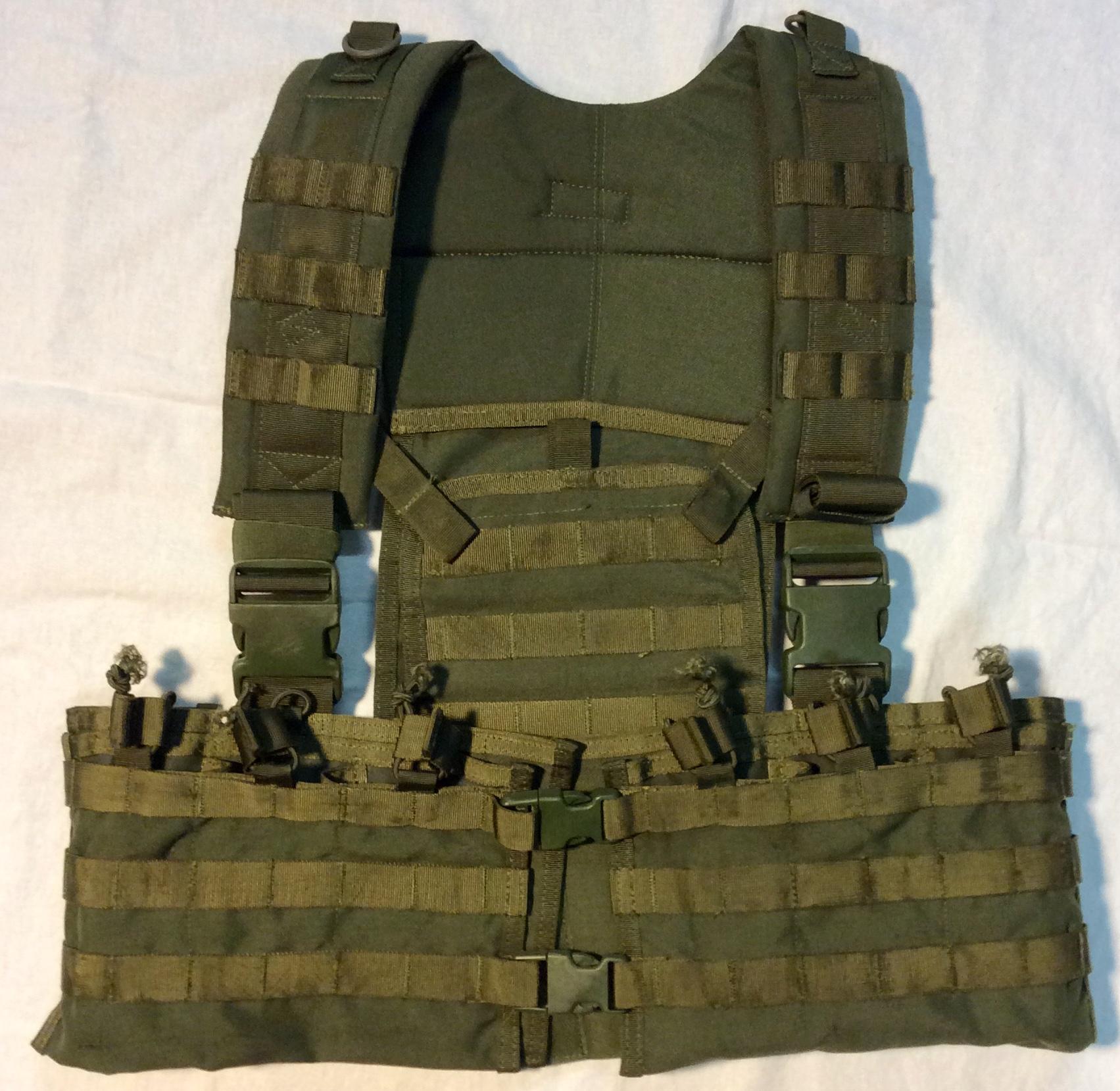 Condor Army Green tactical vest