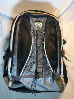 Black and White school bag
