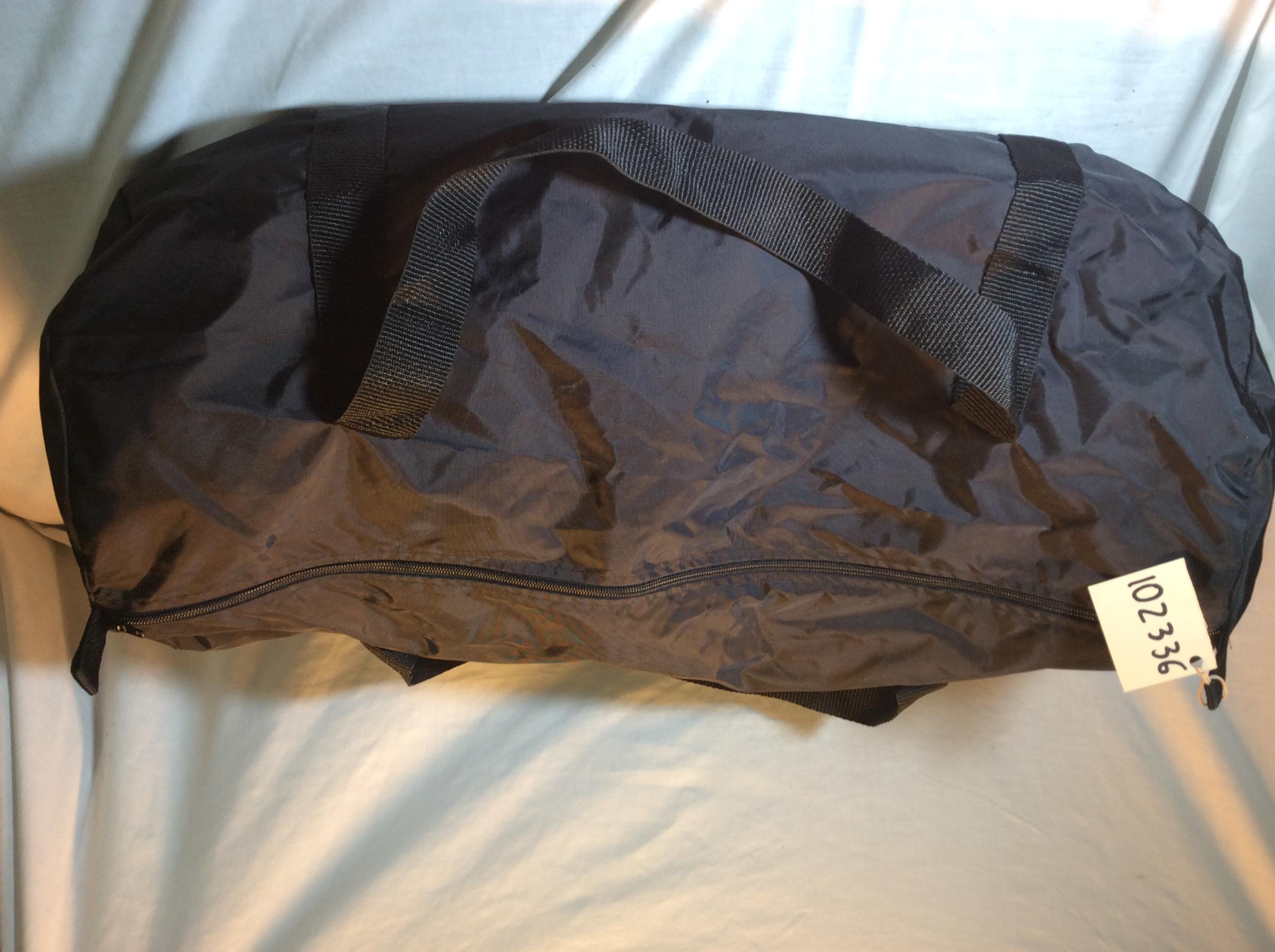 Simple Black Duffle Bag