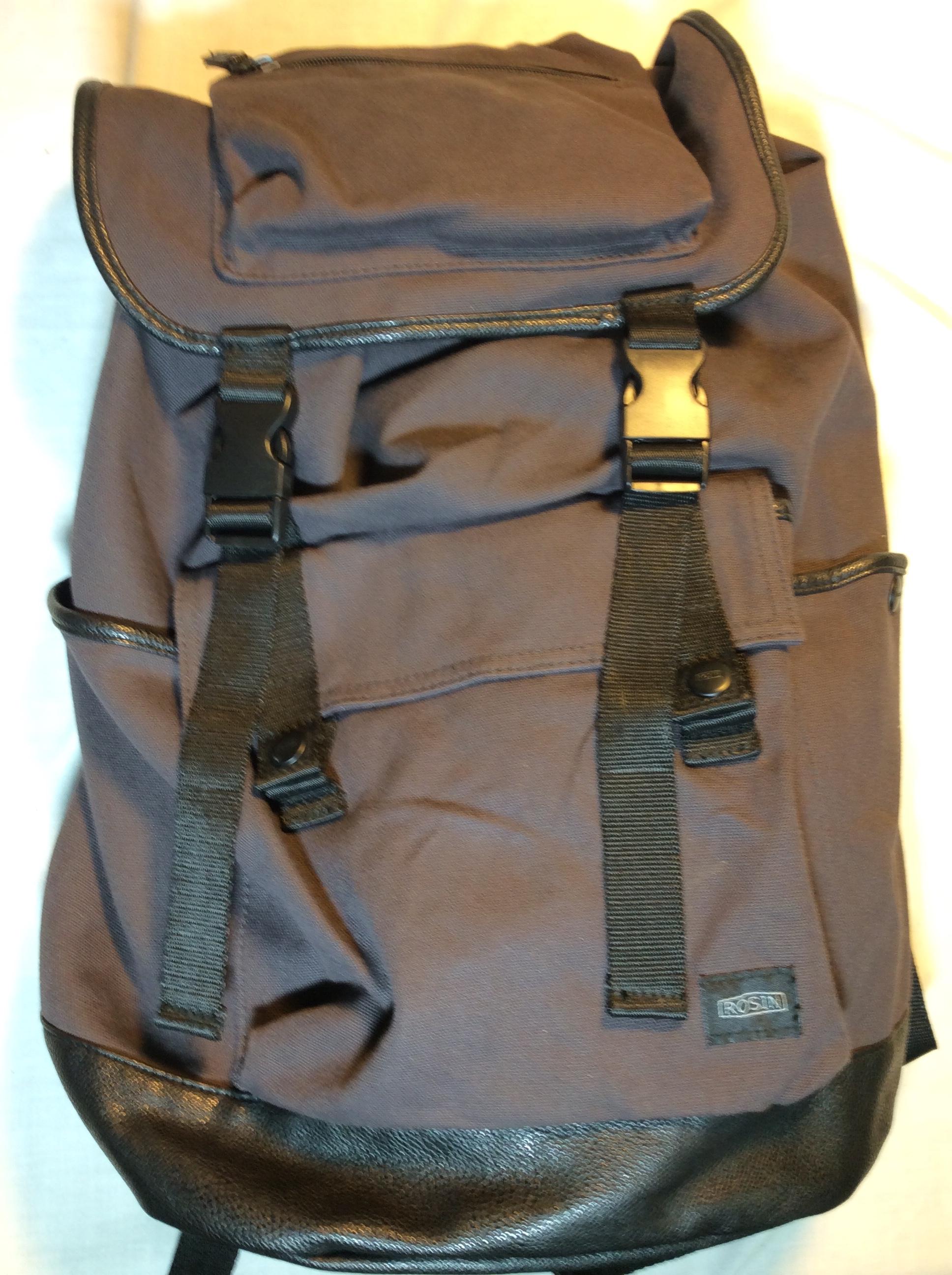 Dark Purple backpack