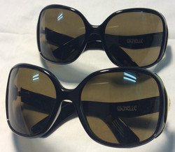 Spy Optic/Richelle Black plastic