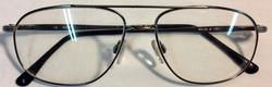 Vintage thin metal frame eyeglasses