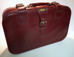 Maroon Retro Luggage