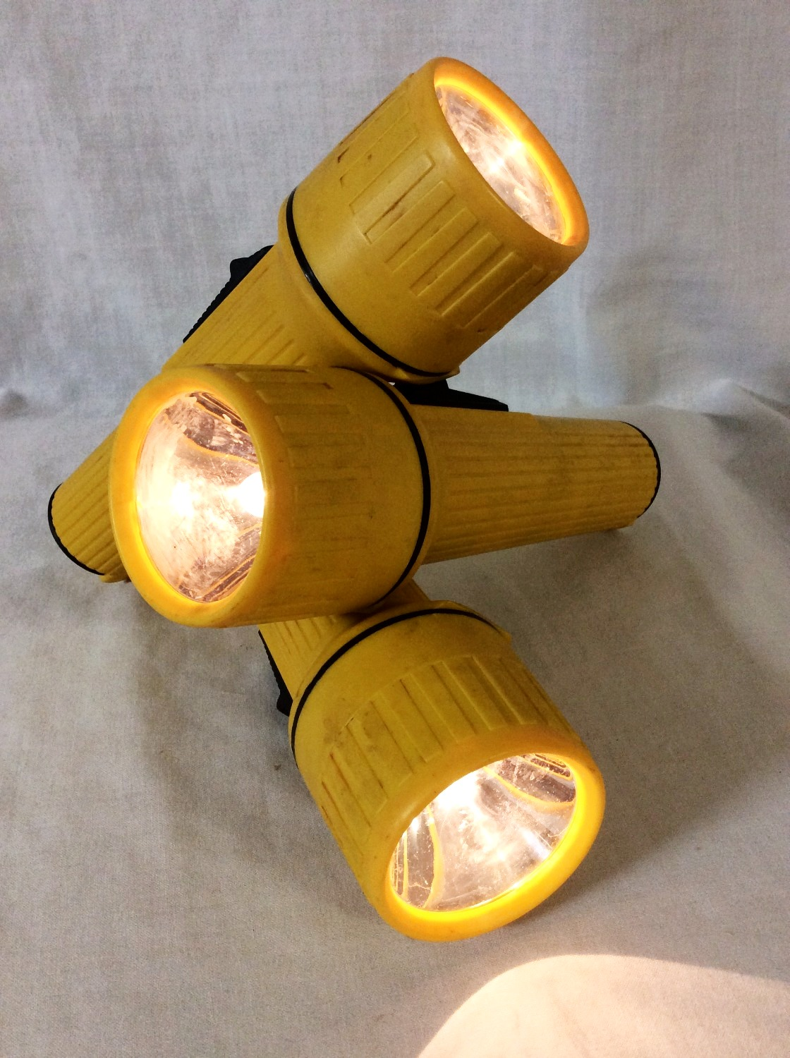 Yellow Flashlights