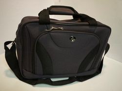Purple travel bag