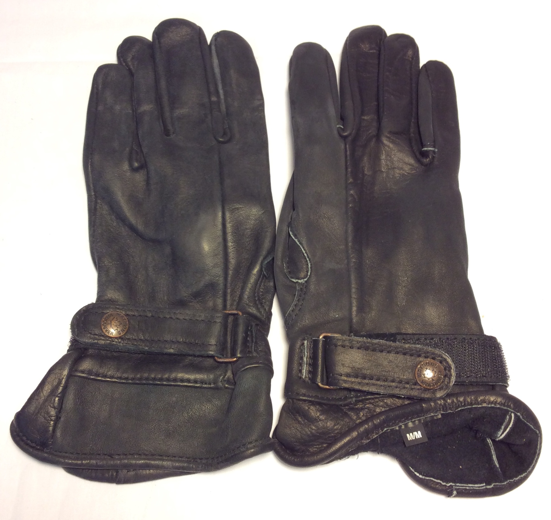 Watsons Vancouver Black leather