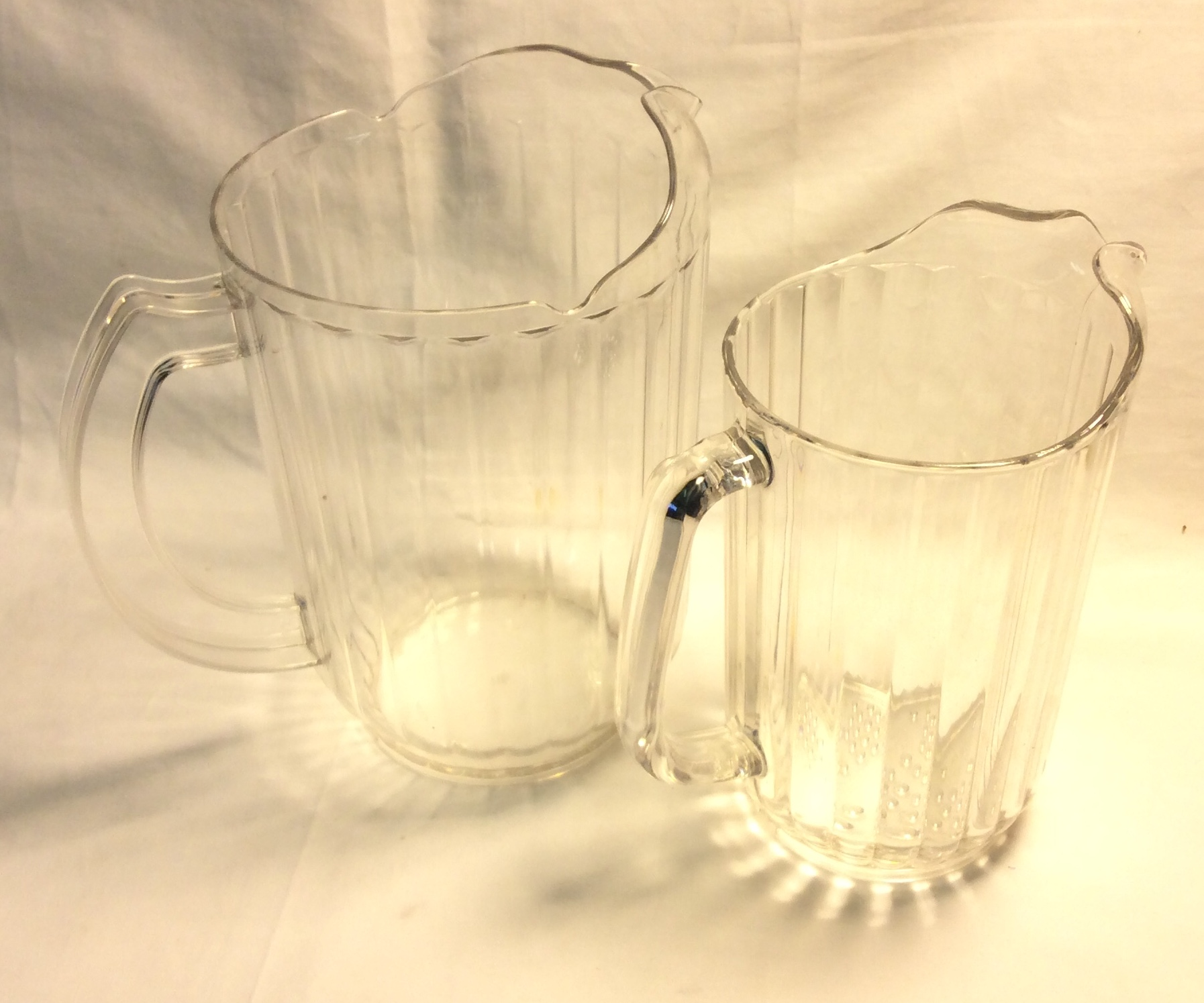 Acryllic water jugs