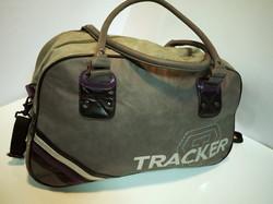 Grey Tracker Gym Bag