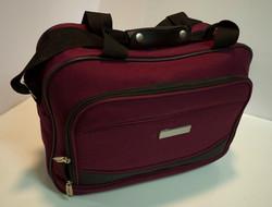 Maroon travel bag