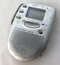 Sony IC handheld recorder ICD-55