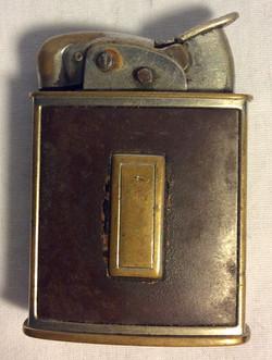 Vintage silver plated Brass lighter