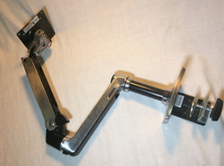 Ergotron metal arm