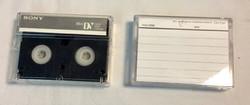 Sony digital videocassette
