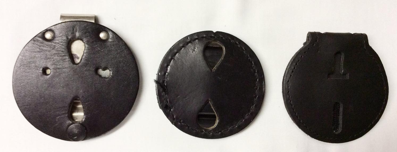Assorted Round Badge Belt Clips