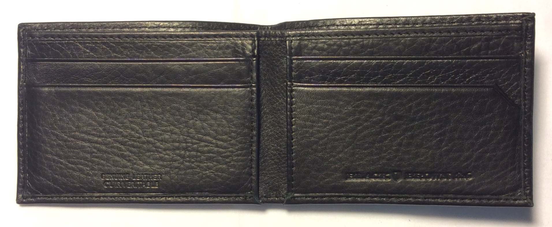 Black Brown 1826 Black leather