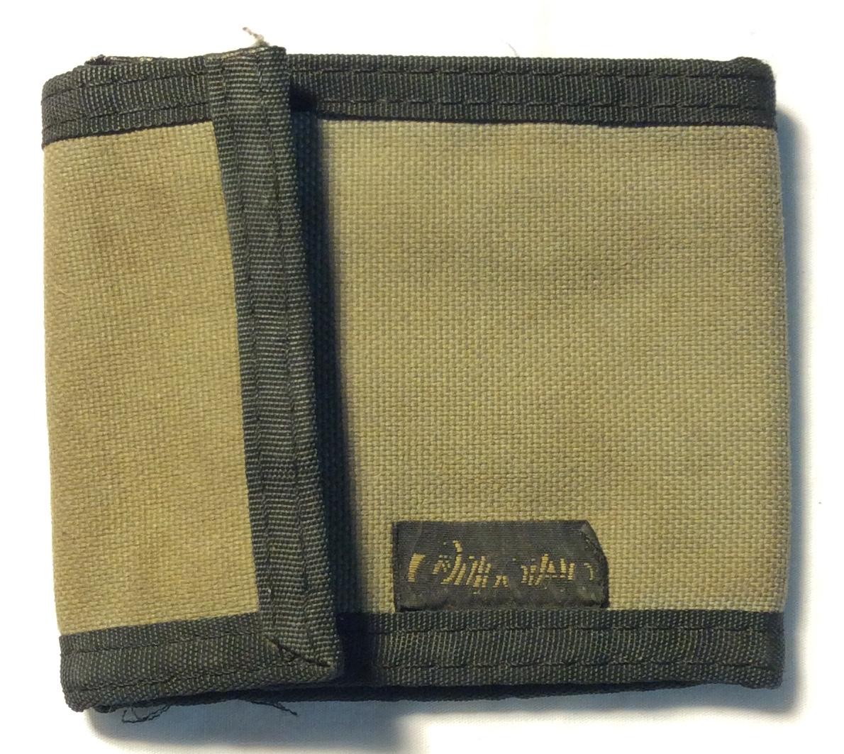 Tan and woven fabric w/ black fabric
