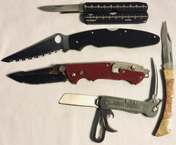 Assorted Folding Knives