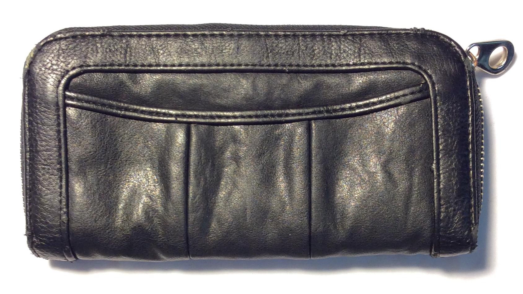 Co Lab Light aged Black Leather