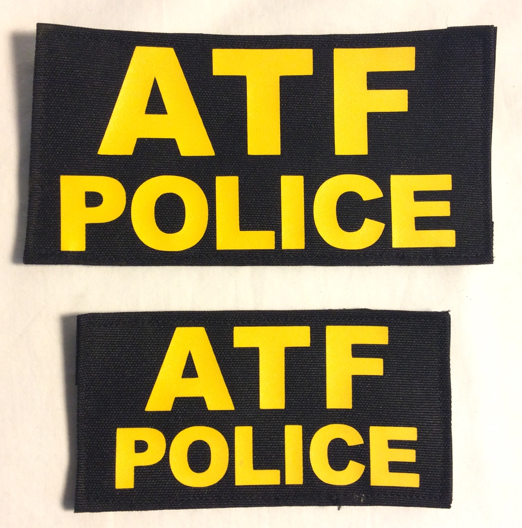 ATF Police Velcro Patches, large