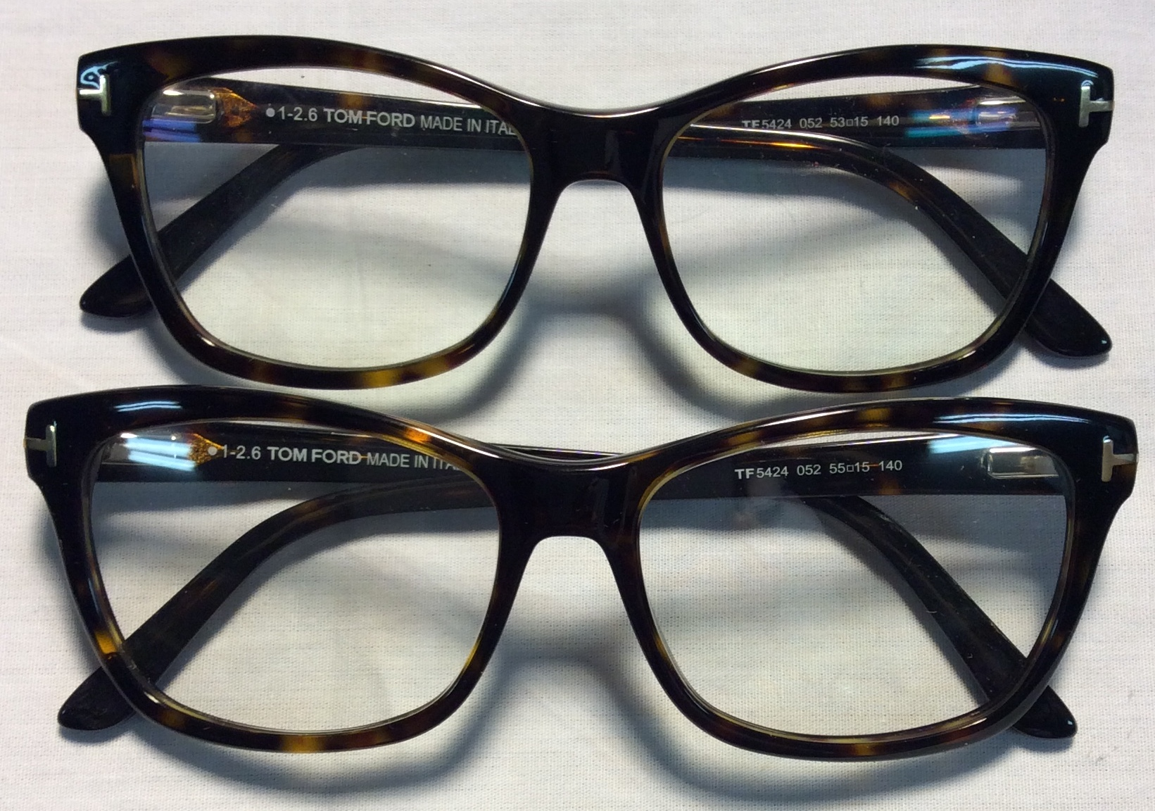 Tom Ford Tortoise shell frames