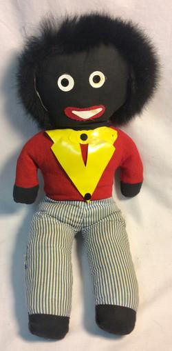 Vintage racist gollywog rag doll