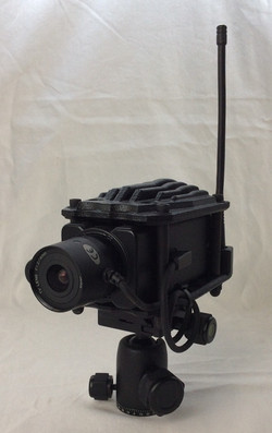 Sniper camera, small, black. Non-functioning.