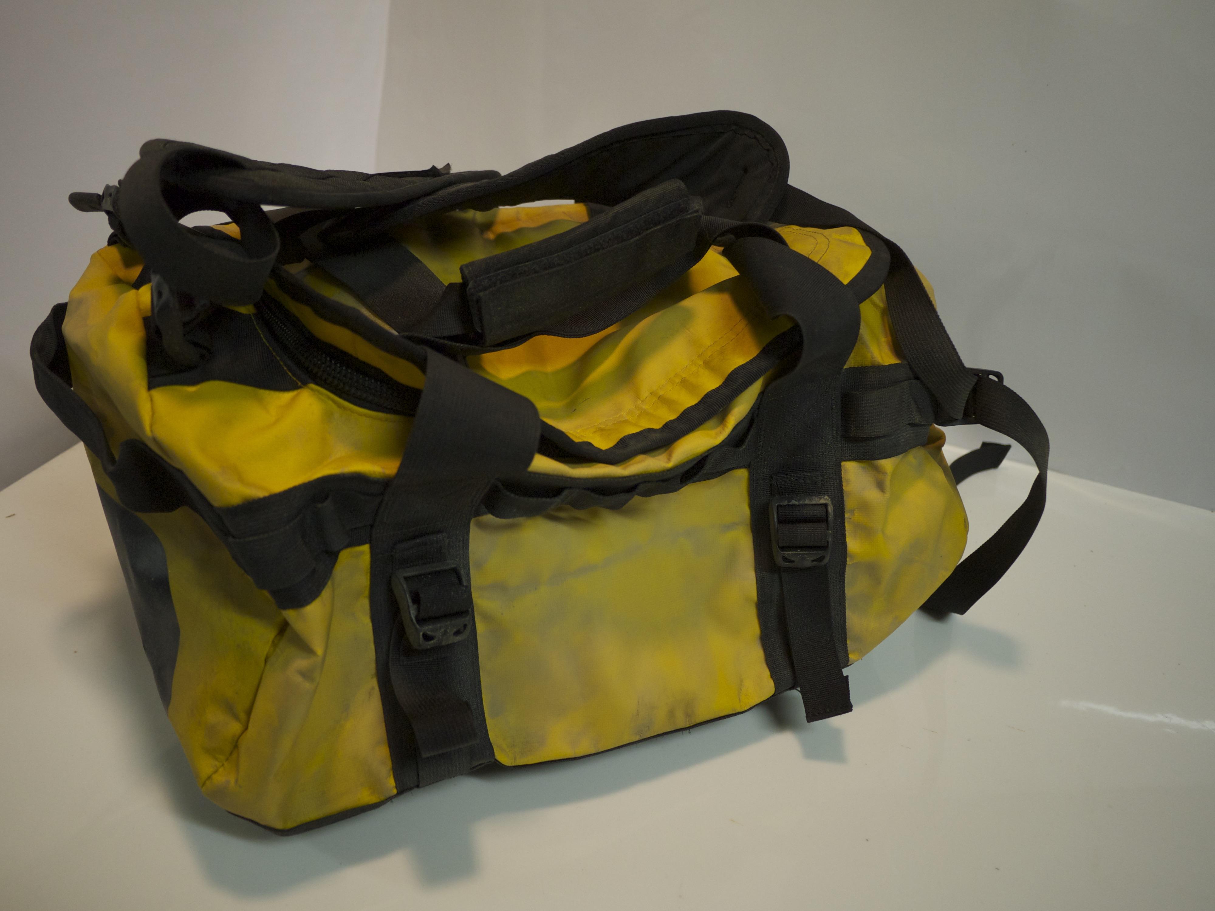 Yellow waterproof duffle bag (rescue)
