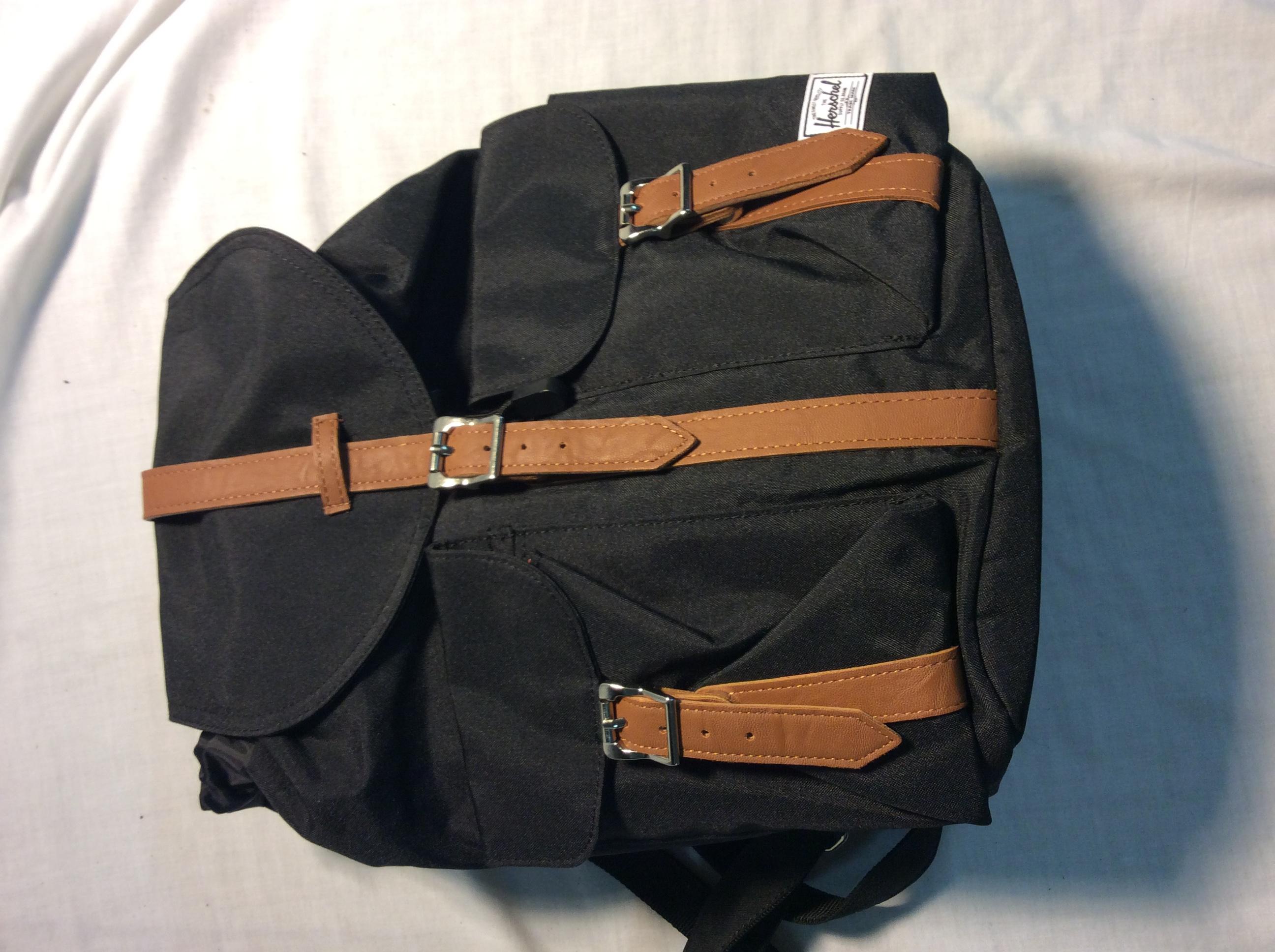 Small black Herschel backpack
