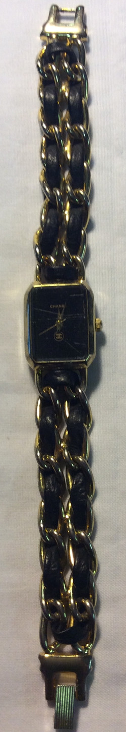 Chanel watch - square black face