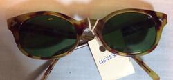Brown period sunglasses