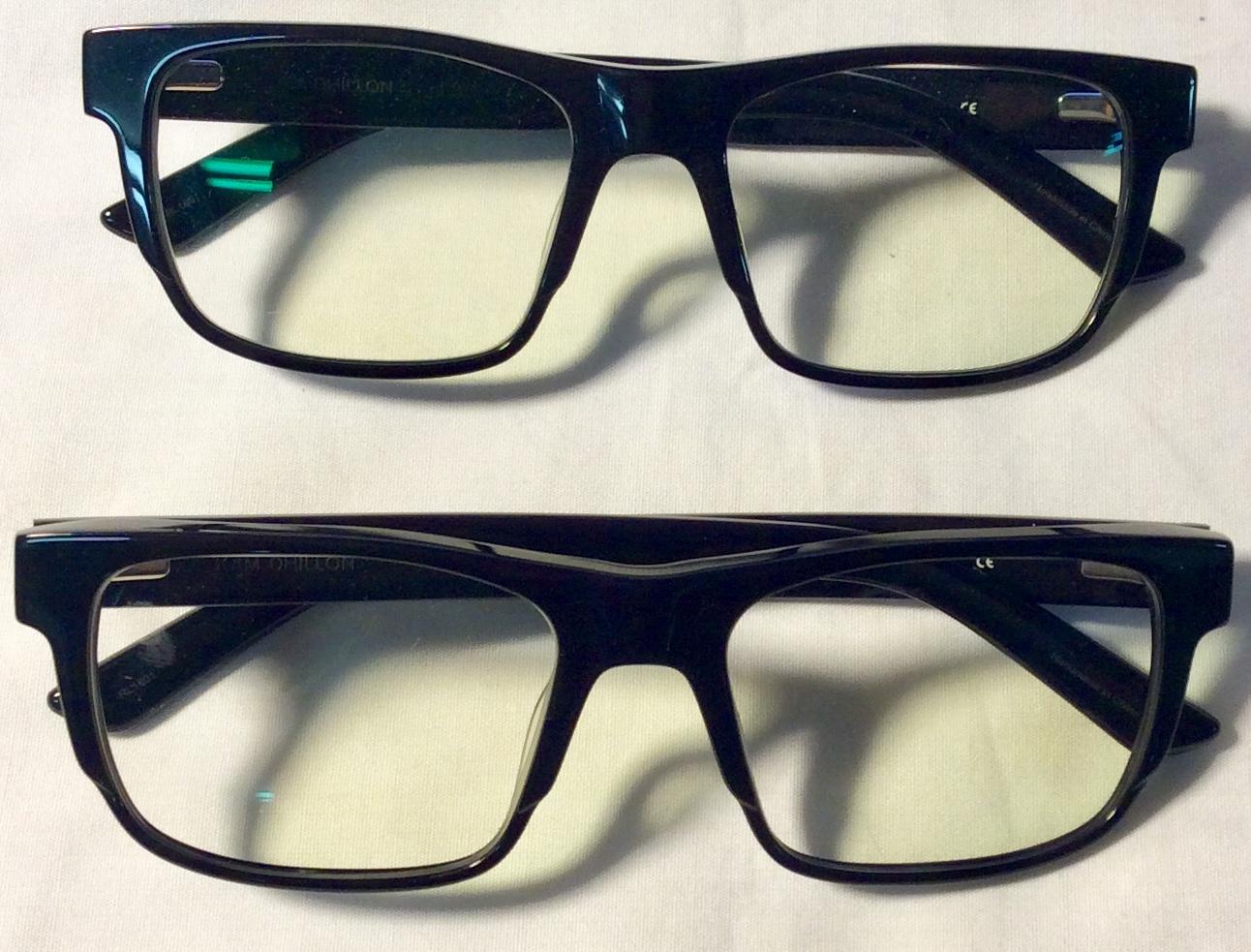 KAMDHILLON Black plastic frame ARL