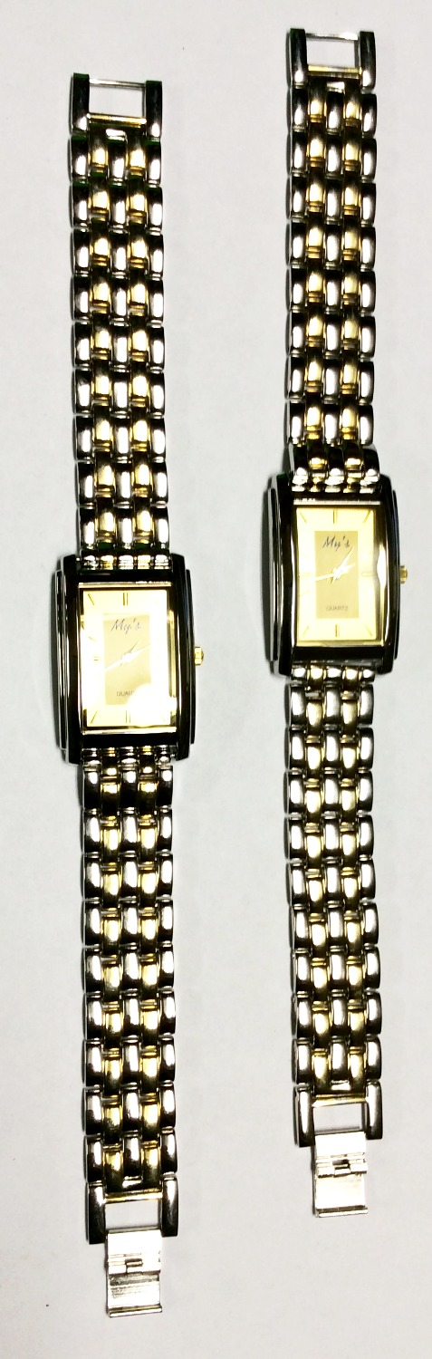 Silver & Gold Watches