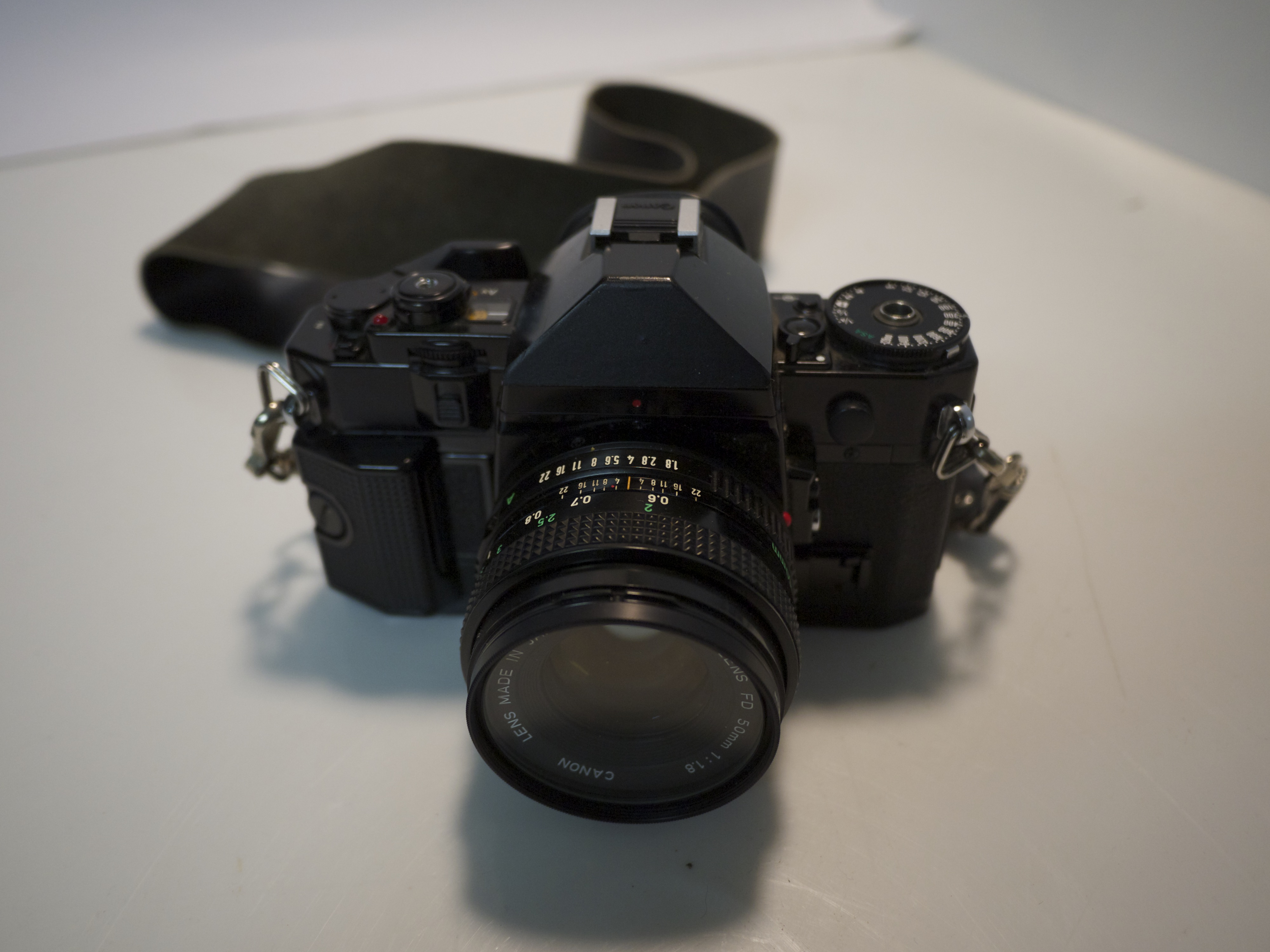 RCP CAM9: Canon A-1 SLR Camera
