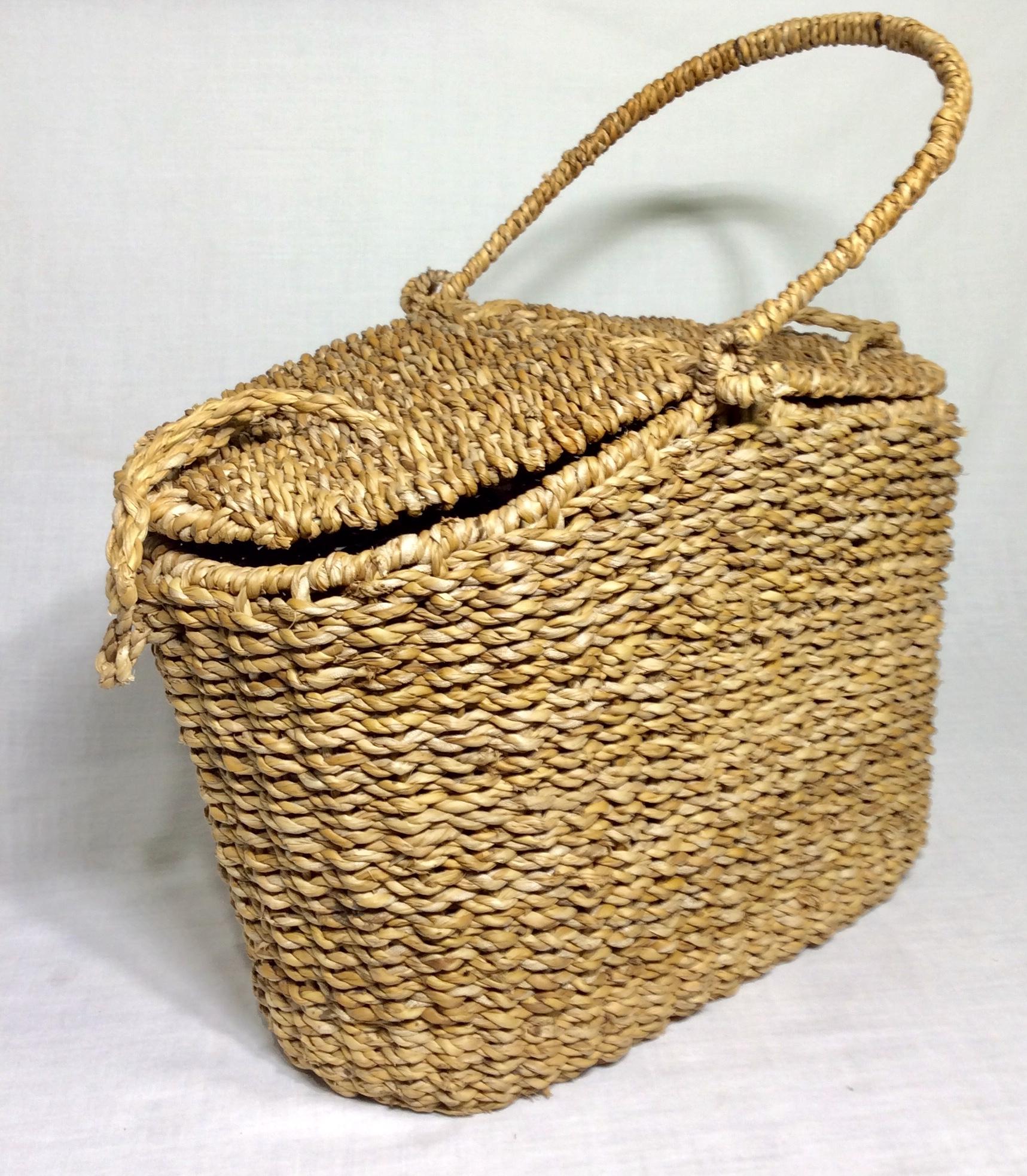 Double open basket