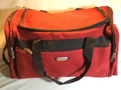 Large Red Duffel Bag