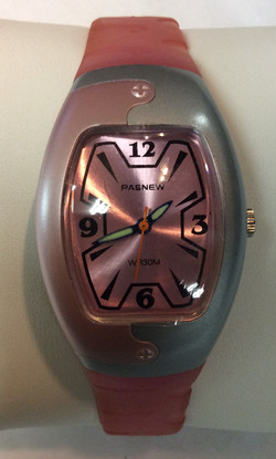 Pasnew watch - rounded rectangular